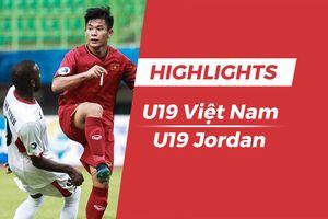Highlights U19 Việt Nam thua ngược Jordan tại giải U19 châu Á