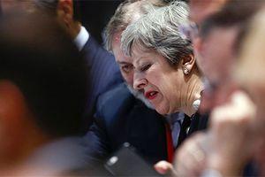 Sự im lặng bế tắc của Thủ tướng Anh sau hội đàm Brexit