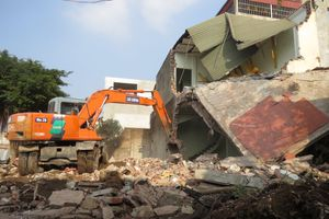 Phú Xuyên xử lý hàng loạt công trình vi phạm