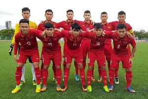 U19 Việt Nam nhận thất bại ở trận ra quân tại Giải U19 châu Á
