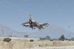F-16 Israel bay qua thung lũng để tiếp cận S-300