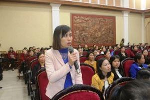 Bí thư Tỉnh ủy Hà Nam đối thoại với cán bộ, hội viên phụ nữ các cấp