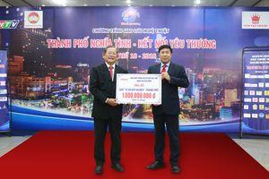 HDBank tặng 1 tỷ đồng cho Quỹ Vì người nghèo TP Hồ Chí Minh
