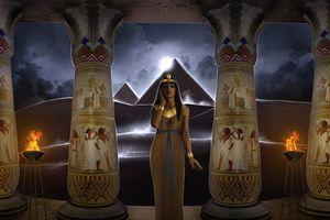Huyền thoại nữ thần Ai Cập làm mù mắt kẻ xâm phạm lăng mộ