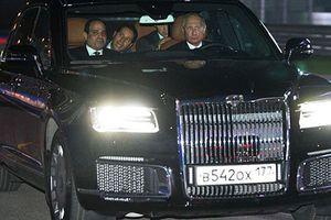 Xe Aurus hạng sang Tổng thống Nga Putin cầm lái có gì?