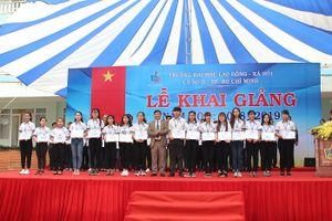 Trường ĐH Lao động Xã hội (Cơ sở 2-TPHCM) khai giảng năm học mới