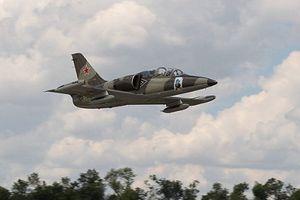 Máy bay quân sự L-39 của Nga lao xuống biển, phi công mất tích