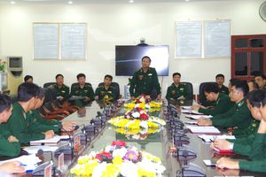 Bộ Tư lệnh BĐBP kiểm tra toàn diện công tác Biên phòng tại BĐBP Điện Biên