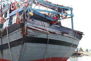 Tàu cá Quảng Nam vô cớ bị tấn công ở Hoàng Sa