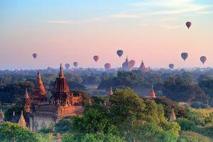 Chiêm ngưỡng vẻ đẹp độc đáo của lễ hội khinh khí cầu Myanmar