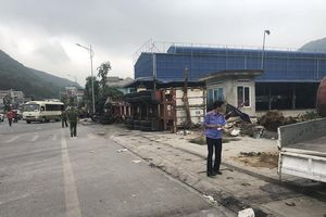 Xe container gây tai nạn liên hoàn, một người tử vong