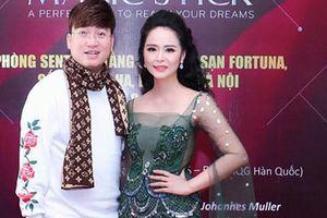Sỹ Luân, nữ hoàng hoa hồng Thanh Hương rạng rỡ dự sự kiện tại Hà Nội