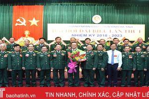 Đại hội Đại biểu Hội Doanh nhân cựu chiến binh Hà Tĩnh lần thứ I