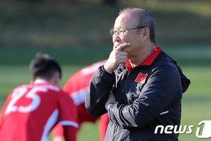 HLV Park Hang-seo tiết lộ lý do chọn Hàn Quốc để tuyển Việt Nam tập huấn