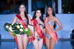 Á khôi Huỳnh Vy đoạt giải phụ đầu tiên tại Miss Tourism Queen Worldwide 2018