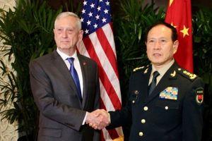 Bộ trưởng Quốc phòng Mỹ- Trung gặp nhau tại Singapore