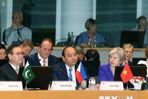 ASEM 12: Châu Âu tìm kiếm sự ủng hộ của châu Á trong các vấn đề nóng