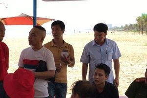 Một khách Trung Quốc tử vong khi đang tắm biển, nghi do đột quỵ