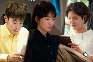 Ngắm loạt ảnh đẹp của Song Hye Kyo, Park Bo Gum và P.O (Block B) trong 'Boyfriend'