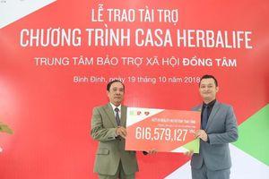 Quỹ HNF tài trợ hơn 600 triệu đồng cho 100 trẻ em khó khăn ở Casa Herbalife Đồng Tâm