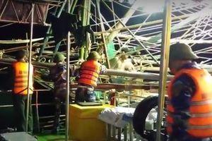 Quảng Bình: Cứu sống 5 ngư dân cùng tàu cá gặp nạn trên biển 