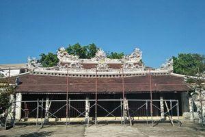 Thừa Thiên - Huế: Đình làng 300 tuổi xuống cấp nghiêm trọng, nguy cơ đổ sập