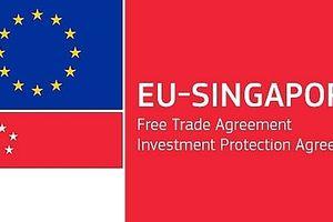 EU chính thức ký hiệp định thương mại với Singapore, FTA đầu tiên với các nước ASEAN