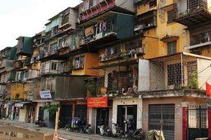 Hà Nội đề xuất được cưỡng chế phá dỡ, chỉ định thầu chung cư cũ