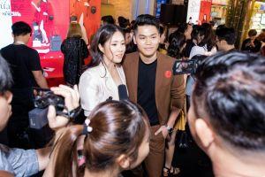 Vợ chồng Lê Phương mừng bạn thân Ngân Khánh trở lại điện ảnh