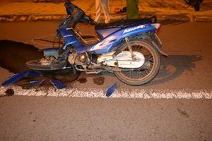 Hai xe máy đâm nhau 1 người chết, 2 người bị thương