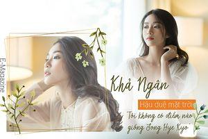 Khả Ngân 'Hậu duệ mặt trời': Tôi không có điểm nào giống Song Hye Kyo
