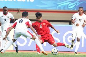 Clip U19 Việt Nam 1-2 U19 Jordan: Niềm vui ngắn chẳng tày gang
