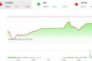 Thị trường chứng khoán tiếp tục giảm