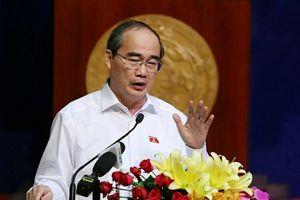 Toàn văn phát biểu của Bí thư Nguyễn Thiện Nhân ở Thủ Thiêm