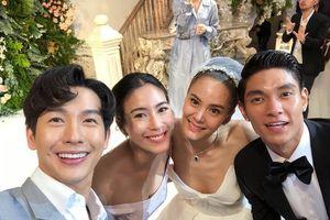 Dàn sao dự lễ cưới mỹ nhân thị phi nhất làng giải trí Thái Lan