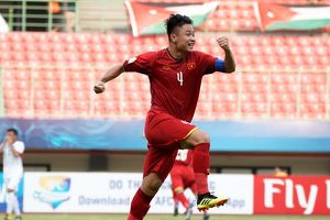Đứt dây chằng, đội trưởng U19 Việt Nam chia tay giải Châu Á