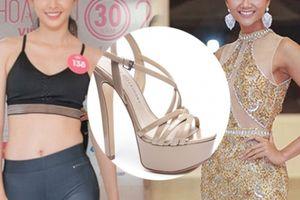 Đôi giày 1,9 triệu là 'thần may mắn' của HH Tiểu Vy, H'Hen Niê