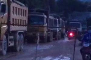'Ám ảnh' xe ben Cty Phúc Lộc, dân dùng lưới B40 chặn đường