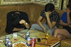 Tạm giữ hàng chục thanh niên 'phê' ma túy trong quán karaoke