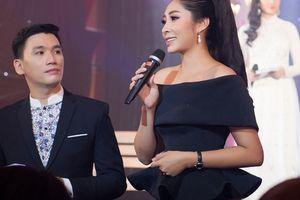 Hoa hậu Đặng Thu Thảo dốc sức gây quỹ cho 'Trái tim tôi hát'