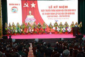 Kỷ niệm 70 năm Ngày truyền thống Ngành Hậu cần Quân khu 5