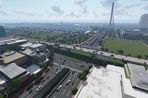 Cuối năm nay khởi công xây dựng nút giao thông phía Tây cầu Trần Thị Lý