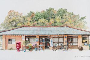 Có một Hàn Quốc cũ kỹ và đáng yêu qua những bức họa