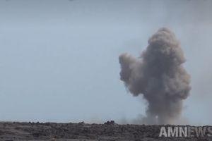 Xem quân đội Syria khai hỏa dữ dội vào IS ở phía nam đất nước