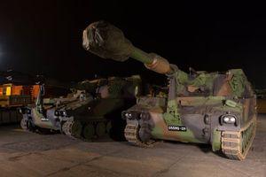 Latvia được trang bị pháo tự hành M109A5OE