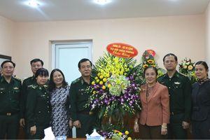 Bộ Tư lệnh BĐBP chúc mừng Hội Liên hiệp Phụ nữ Việt Nam nhân ngày Truyền thống