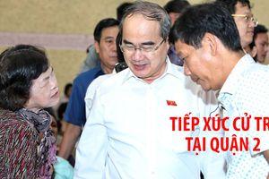 Ông Nguyễn Thiện Nhân tiếp tục gặp gỡ cử tri tại quận 2