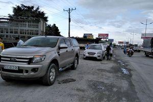 2 ô tô khách va chạm trên đường dẫn cao tốc TP.HCM – Trung Lương