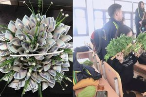 Triệu phụ nữ muốn có bó hoa kẹp cả trăm tờ 500 ngàn ngày 20.10
