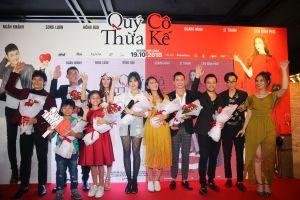 Sao Việt háo hức đi dự công chiếu 'Quý cô thừa kế' chia vui cùng Trang Nhung